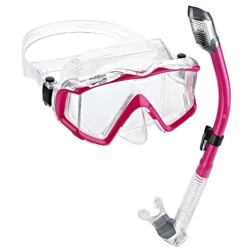 Phantom Aquatics Panoramic Scuba Snorkeling Set
