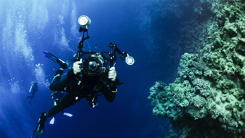 A Guide On The Best Scuba Diving Cameras